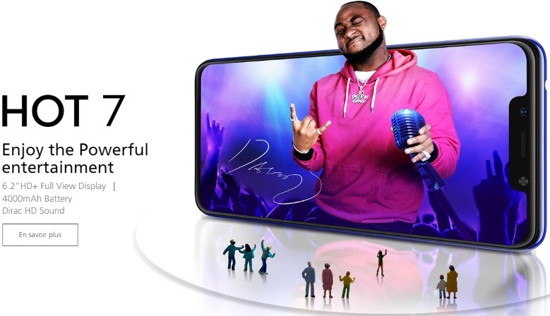 Infinix HOT 7 16 Go